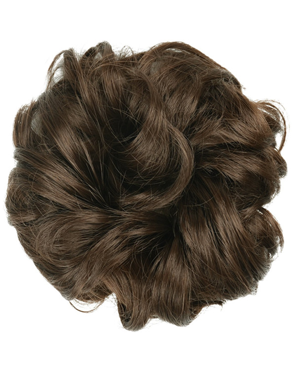 FESHFEN Wavy Messy Hair Bun Donut Hair Chignons Hairpiece Scrunchy Scrunchie - #8
