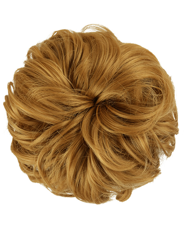FESHFEN Wavy Messy Hair Bun Donut Hair Chignons Hairpiece Scrunchy Scrunchie - #27