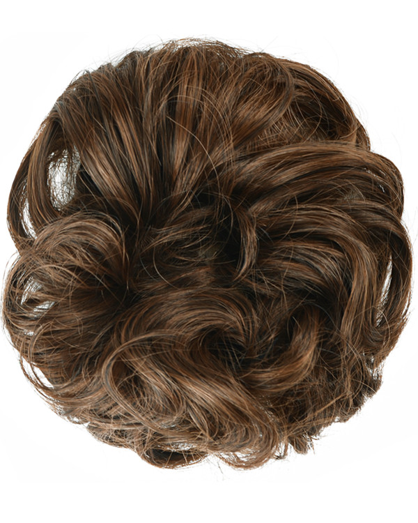 FESHFEN Wavy Messy Hair Bun Donut Hair Chignons Hairpiece Scrunchy Scrunchie - #430