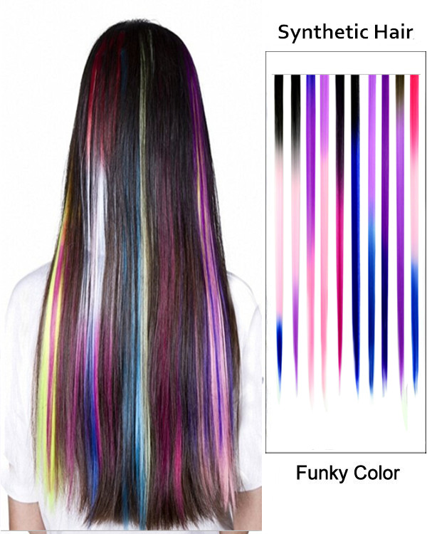 Feshfen New Year Sale 20 Twothree Tones Ombre Straight Clip In Hair