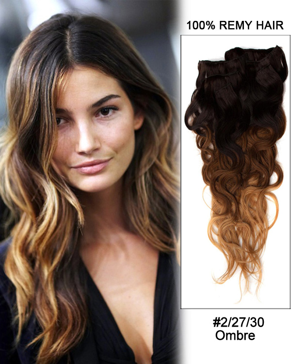 Black And Blonde Hair Extensions 28
