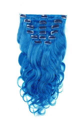 7pcs blue body wave 100 remy hair clip in human hair extensions 16 7pcs blue body wave 100 remy hair clip in human hair extensions pmusecretfo Choice Image