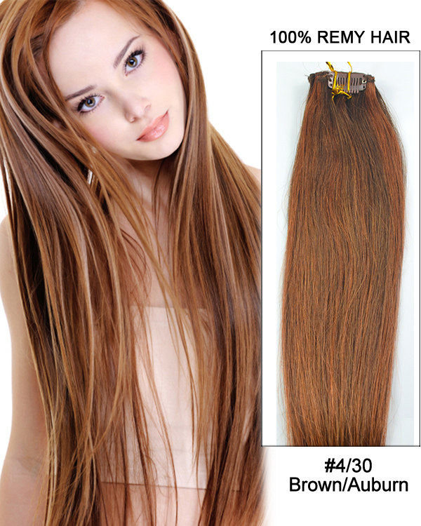 Medium Brown Light Auburn 4 30