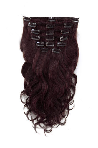 7pcs 99j dark plum red body wave 100 remy hair clip in human 16 7pcs 99j dark plum red body wave 100 remy hair clip in human hair extensions pmusecretfo Image collections