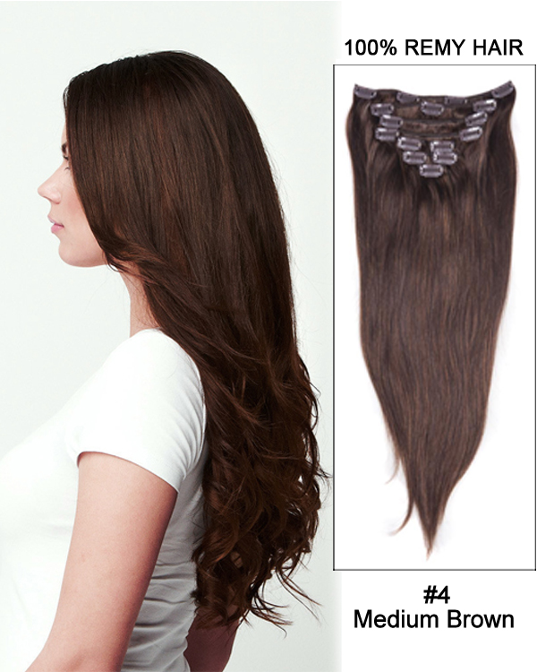 18 Medium Brown Hair Extensions Prices Of Remy Hair