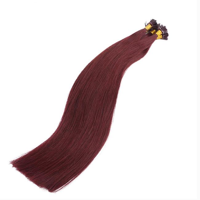 99j dark plum red straight flat tip 100 remy hair flat pre bonded 1499j dark plum red straight flat tip 100 remy hair flat pre bonded hair extensions 100 pmusecretfo Image collections