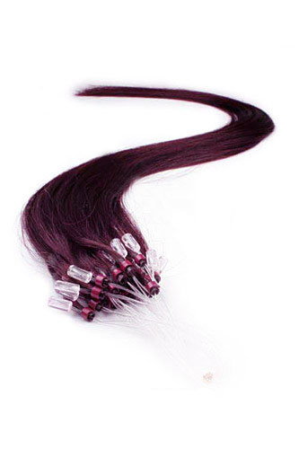 99j dark plum red straight micro loop 100 remy hair human hair 16 99j dark plum red straight micro loop 100 remy hair human hair extensions 100 strands pmusecretfo Image collections