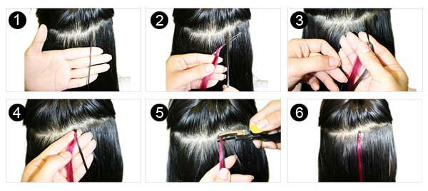 How to apply micro loop hair extensions how to apply micro loop hair extensions pmusecretfo Image collections