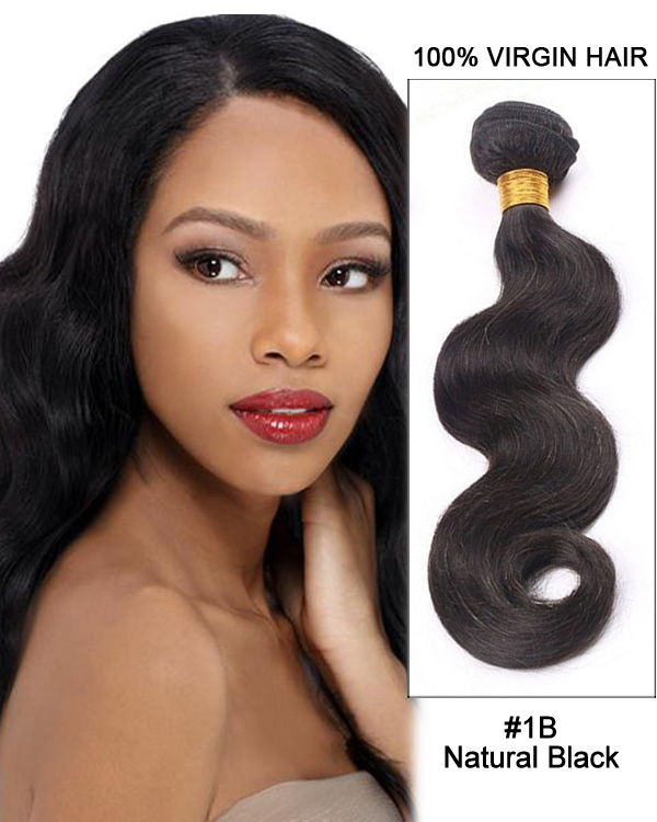 "22"" Body Wave Brazilian Virgin Hair Remy Hair Weave Weft Human Hair Extension"