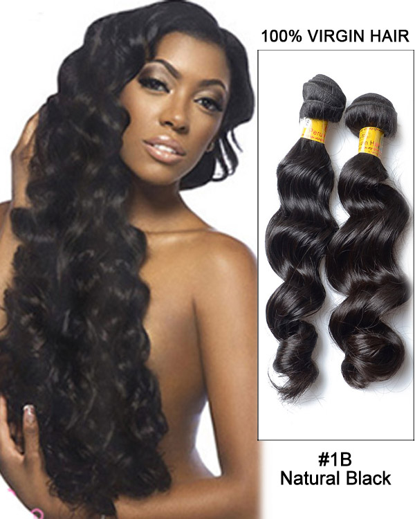 Phenomenal 16 1B Natural Black Straight Weave Brazilian Virgin Hair Human Hairstyles For Men Maxibearus