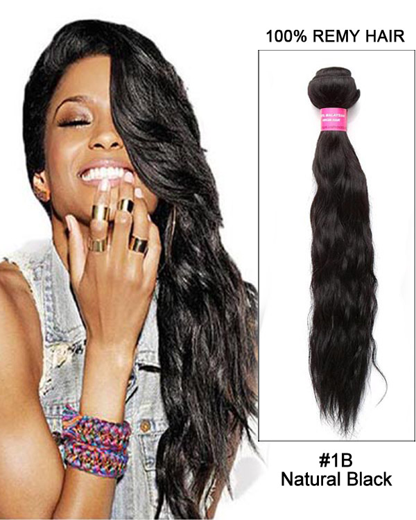 18 Water Wave Brazilian Remy Hair Weave Weft Human Hair Extensions