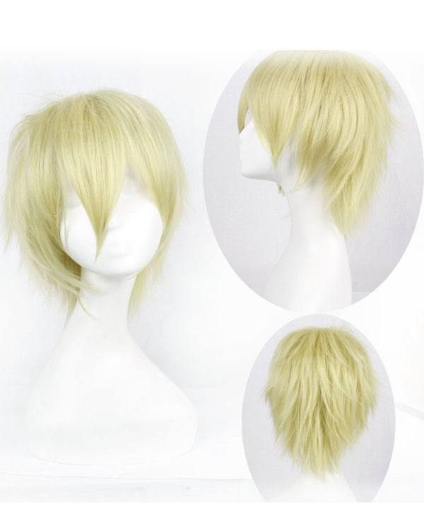 Yellow Blonde Costume Wigs 60
