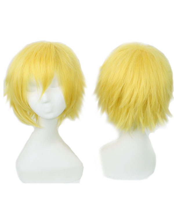 Kise Ryota Cosplay Wigs Costumes Wigs Yellow Short Hair Cosplay Wig