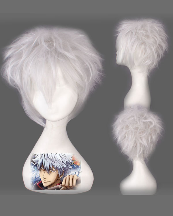 Amiketsukami Soushi Cosplay Wigs Costumes Wigs White Hair Wig For Boys