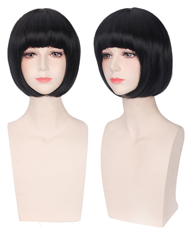 Nora Black Costum Wigs Cute Noragami Cosplay Wig With Bang