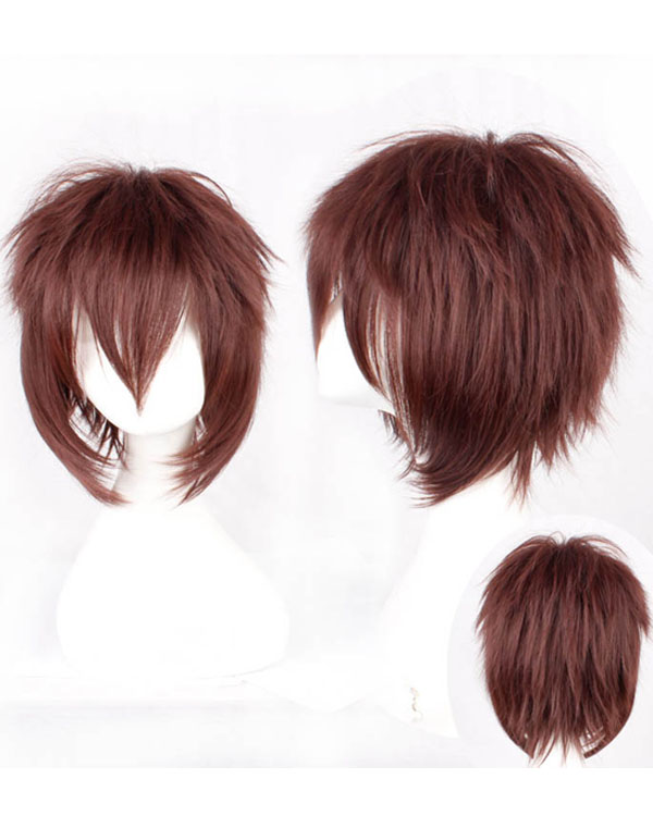 Sawada Tsunayoshi Cosplay Wigs Brown Costumes Wigs For Themed Party