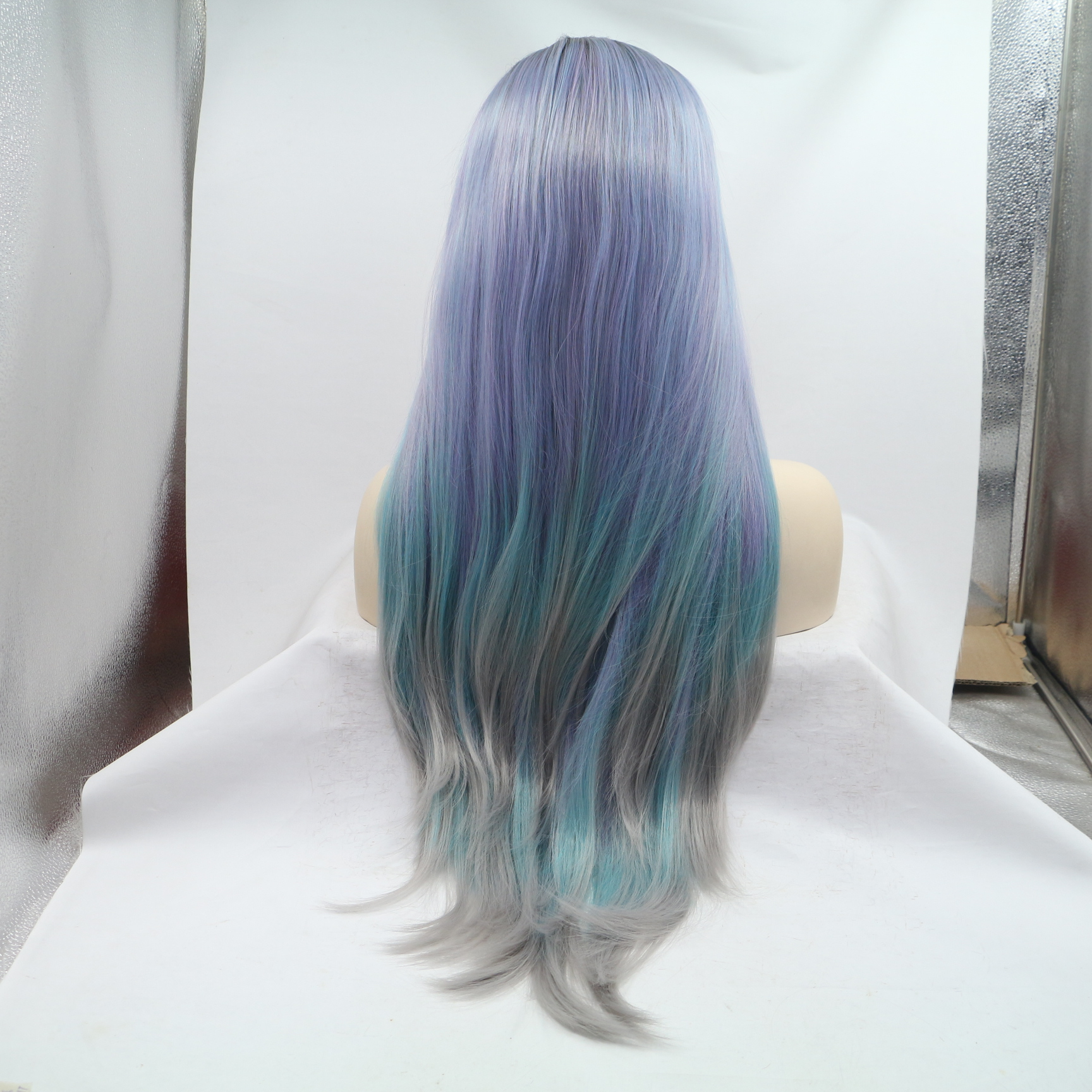 Description Wallpaper For Mixing Blue And Purple Hair Dye