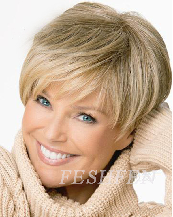Beautiful Short Wavy Wigs Synthetic Hair Wig