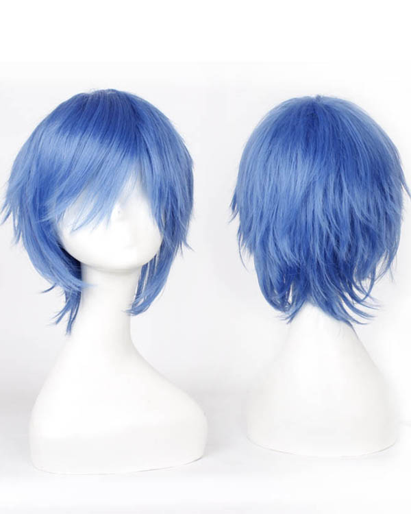 Blue Cosplay Wigs Costumes Wigs For Themed Party