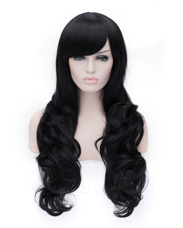 Charming Body Wave Wigs Long Synthetic Hair Wig