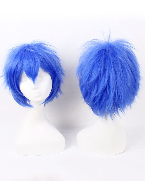 Blue Cosplay Wigs Costumes Wigs Short Hair Cosplay Wig