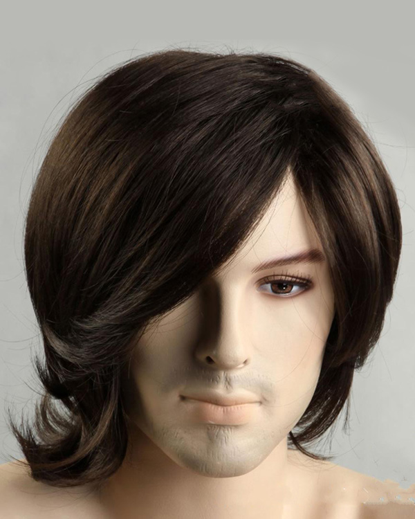 Handsome Europeen And American Men Short Hair Wig