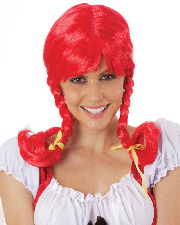 Cheap Red Costume Wigs 40