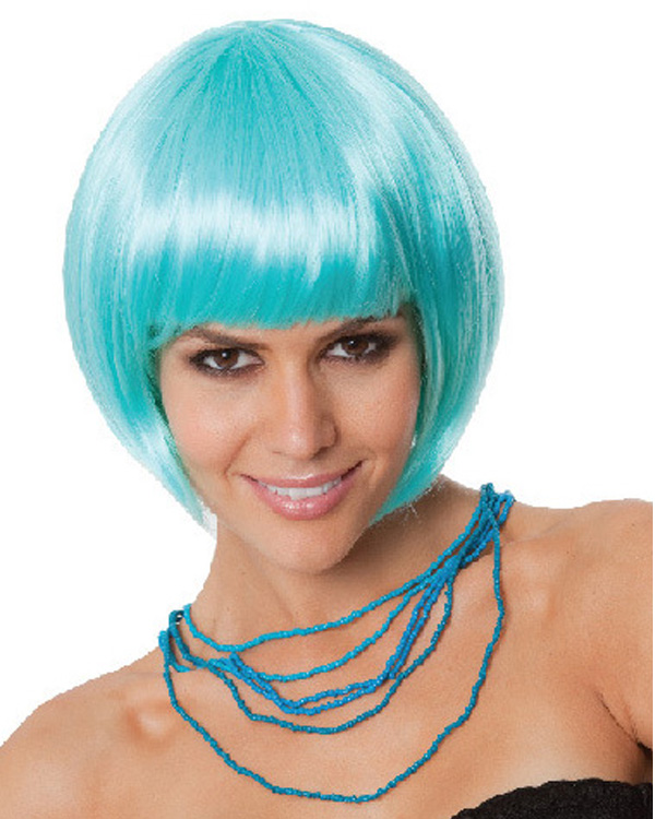 Bob Fluo Colored Costume Wig Short Cosplay Wig